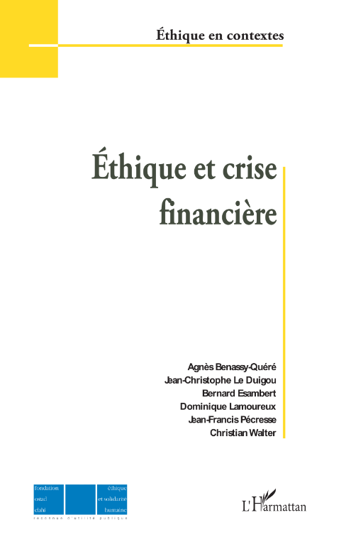 Éthique et crise financière Image