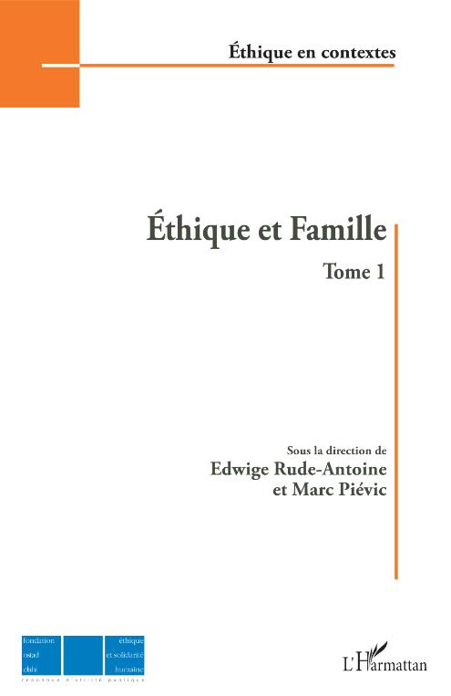 Éthique et Famille -Tome 1 Image