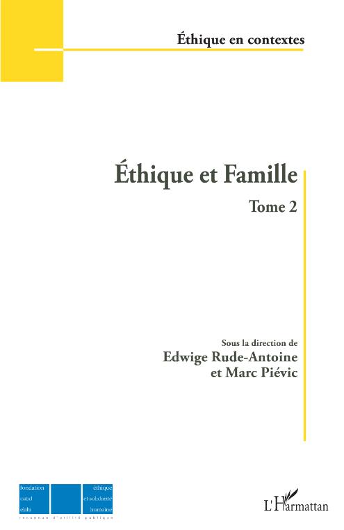 Éthique et Famille -Tome 2 Image